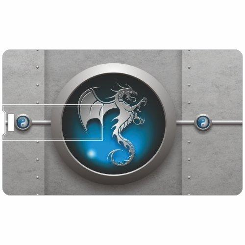 Printland-Blue-Circle-PC81053-Credit-Card-Shape-8GB-Pen-Drive