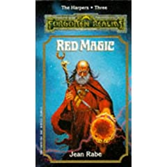 Red Magic (Forgotten Realms: The Harpers, Book 3) by Jean Rabe
