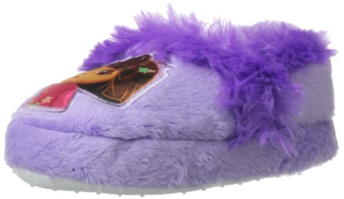 Nickelodeon Dora The Explorer Aline W Face Slipper (Toddler),Purple,9-10 M Us Toddler