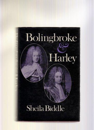 Bolingbroke and Harley PDF