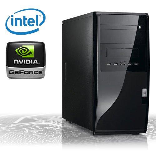 KCS [184406] - Silent-PC | Intel Dualcore G530 (2x 2400MHz) | 4GB DDR3-1333 | 500 GB SATA2 | nVidia Geforce GT 620 1024MB HDMI + DVI (DirectX11 + Bluray-3D) | ASUS P8B75-M LX | USB3.0 | 22xDVD-RW | 6-Kanal-Sound | Gigabit-LAN | Cardreader | 400W