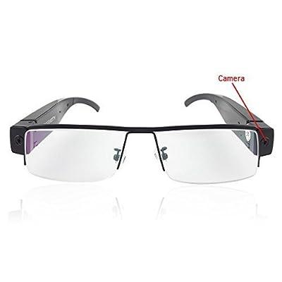 Toughsty™ 8GB 1920x1080P Hidden Camera Eyewear Glasses Camcorder Video Recorder Mini DV with Audio Function