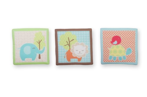 Sumersault Wall-Hangings, Sweet Petite Animals