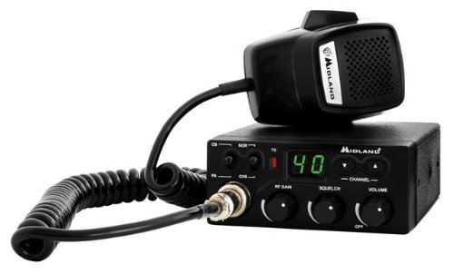 Midland Consumer Radio CB-1 40 Channel CB Radio with RF Gain