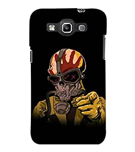 printtech Masked Man Back Case Cover for Samsung Galaxy Quattro i8552::Samsung Galaxy Quattro Win i8552