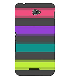 Sony Xperia E4 MULTICOLOR PRINTED BACK COVER FROM GADGET LOOKS