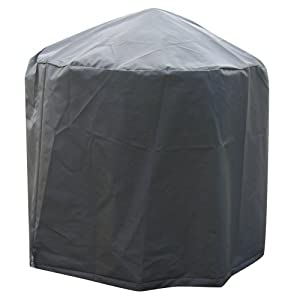 La Hacienda 60542 Small Deluxe Firepit Bowl Cover - Grey