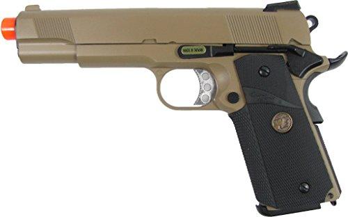 we full metal 1911 meu desert gas pistol airsoft gun(Airsoft Gun) (Airsoft Gas Pistol 1911 compare prices)
