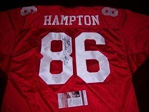 Dan Hampton Autographed Jersey - Arkansas Jsa coa - Autographed College Jerseys by Sports+Memorabilia