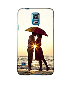 Pick Pattern Back Cover for Samsung Galaxy S5 SM-G900I (MATTE)