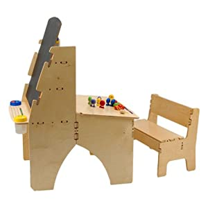 Anatex Easel Desk Combo with Bench by Anatex