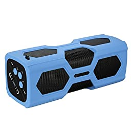 Portable Speaker, ELEGIANT Wireless Bluetooth Speaker, Indoors/Outdoors Speaker with 3600mAh Rechargeable Power Bank-Compatible To Computer, PC, Radio, Laptop, iPod, iPad, iPhone & Android Mobile (Blue)