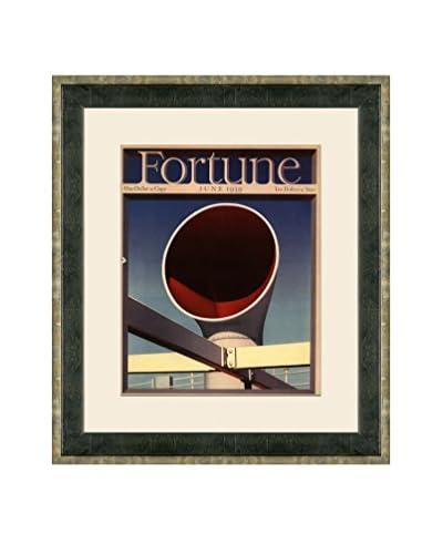 Vintage June 1939 Fortune Magazine Cover, Multi, 21 x 18