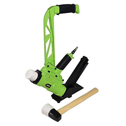 PowRyte 500022 Elite 2-in-1 Air Flooring Nailer/Stapler