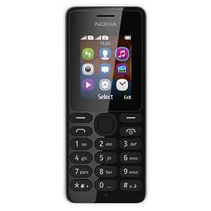 Nokia 108 Téléphone portable Compact Dual SIM Noir