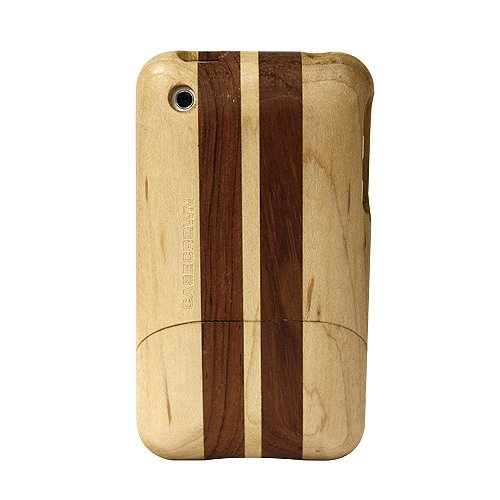 CaseCrown Apple iPhone 3G 3GS Timber Glider Case (Maple/Rosewood) NEW MODEL!