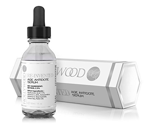 POWERFUL Anti-age serum with 2.5% Retinol - 11% Hyaluronic Acid - 20% Vitamin C. 4x STRONGER than regular anti-aging treatments.