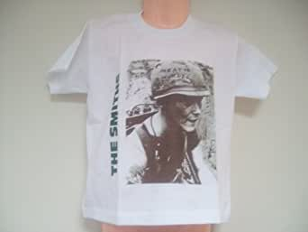 Kids Childrens The Smiths MEAT IS MURDER T Shirt 2-3