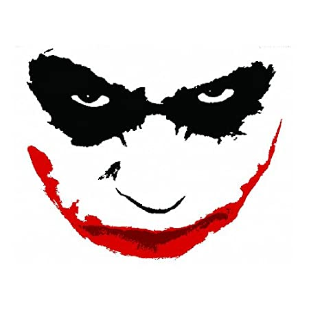 Wall Graphix: Batman Dark Knight - The Joker Face 23 x 29