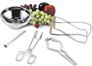 Cook N Home Canning Tool Set, 5-Piece by Cook N Home