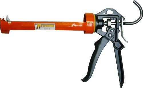 Newborn Non-Drip Smooth Rod Revolving Frame Caulk Gun, 1/10 Gallon Cartridge, 12:1 Thrust Ratio