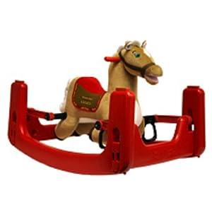 Tek Nek Rockin Rider Legacy Grow With Me Plush Animated Pony from Tek Nek