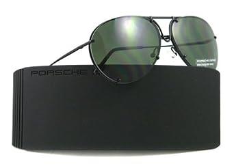 Amazon.com: PORSCHE SUNGLASSES P 8433 D BLACK P8433