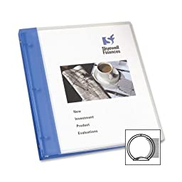 Avery Consumer Products Flexible Presentation Binder, View Pocket, 1/2\