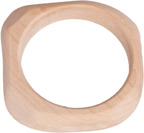 Waldorf Maple Teether Natural Teething Ring [Baby Product]