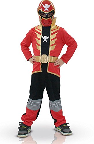 Red Super Megaforce Power Ranger - Childrens Fancy Dress Costume - Small - 104cm