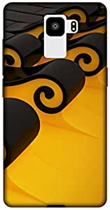 The Racoon Lean printed designer hard back mobile phone case cover for Huawei Honor 7. (3d -patter)