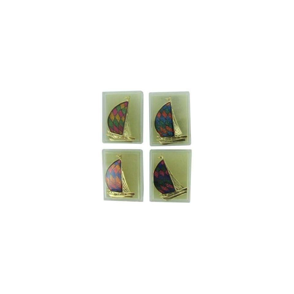Bulk Pack of 48   Sailboat fashion pin (Each) By Bulk Buys