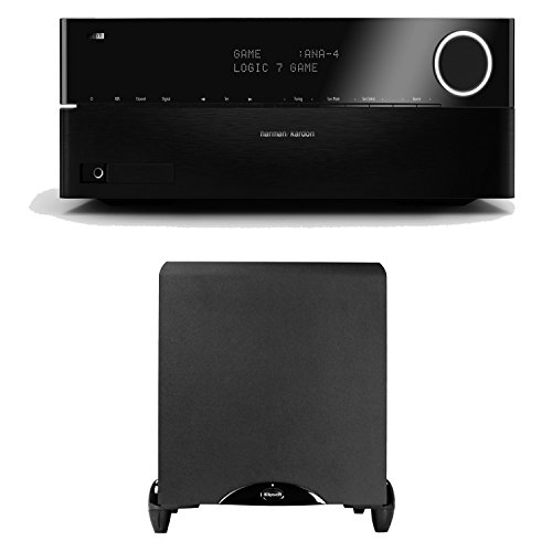 Harman Kardon Avr 3700 7.2 Channel Networking Home Theater Receiver Plus A Klipsch Synergy Sub-12 12-Inch Powered Subwoofer