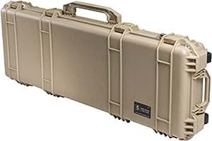 Pelican 1700 Case with Foam for Camera, Desert Tan
