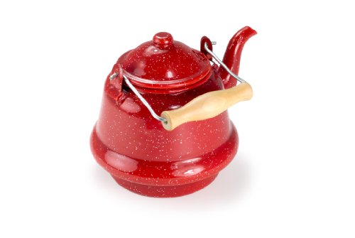 GSI Outdoors Small Tea Kettle (Red) (Kettle Gsi compare prices)