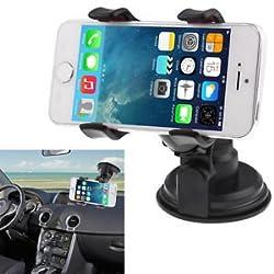 Universal 360 Degree Rotation Cup Car Holder/ DesKtop Stand for Smartphone
