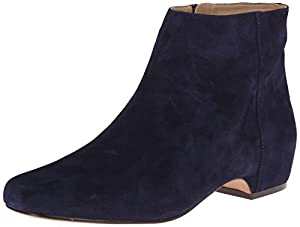 Nine West Women's Huggins Suede Boot,Navy,5 M US