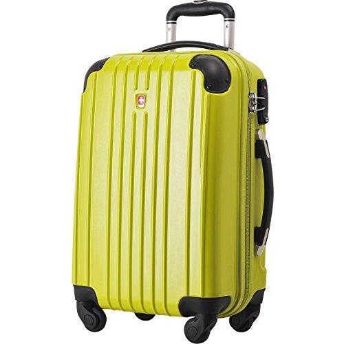 [スイスモビリティ] SWISSMOBILITY スーツケース TSAロック搭載 キャリーバック PC ABS 素材 ファスナー 鏡面仕上げ 【 MT-5553-07T00】 グリーン S