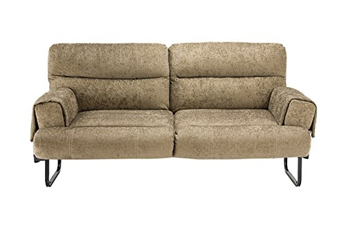"Thomas Payne 371079 Perkins Brown 60"" Jackknife Sofa with Bolsters and Leg Kit"