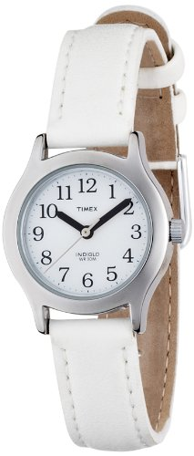 Timex Youth My First Easy Reader white strap watch - T791014E