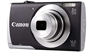 Canon Powershot A2500 ( 16 MP,5 x Optical Zoom,2.7 -inch LCD )