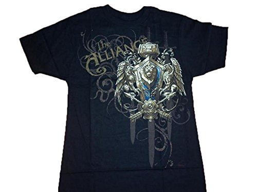 World of Warcraft Alliance Crest Tshirt (L)