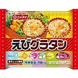 日本水産 冷凍 24パック えびグラタン 4個 (100g)