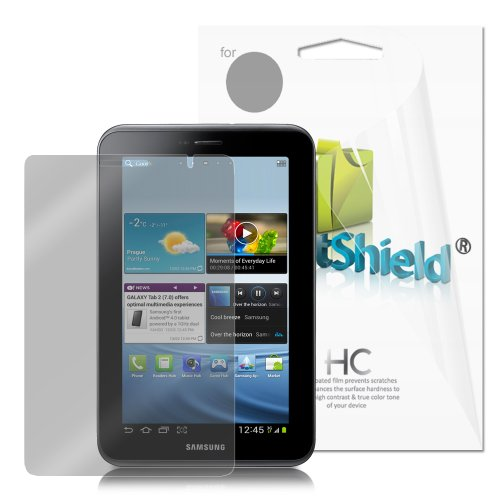 GreatShield Ultra Anti-Glare Clear Screen Protector Film for Samsung Galaxy Tab 2 7-Inch Tablet (3 Pack)(Matte)