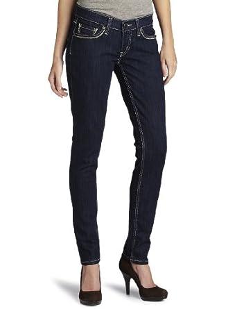 Levi's Juniors 524 Triple Needle Skinny Jean,Simply Blue,28/7 Medium