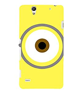 EPICCASE Eye of the minion Mobile Back Case Cover For Sony Xperia C4 (Designer Case)