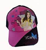 iCarly Baseball Cap - I Carly Hat (Black)