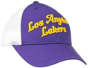 NBA Los Angeles Lakers Women's Trucker Cap, Purple, One Size Fits All