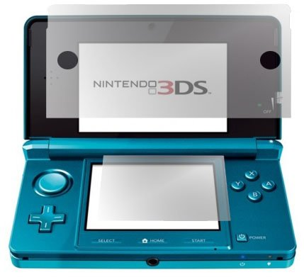 GreyMobiles LCD/SCREEN SCRATCH PROTECTOR For Nintendo 3DS (PACK OF 10)
