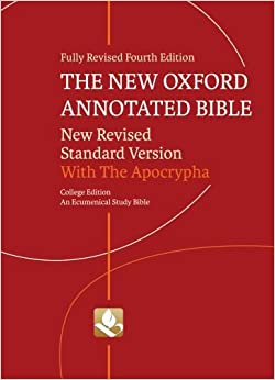 The New Oxford Annotated Bible with the Apocrypha 2010 paperback